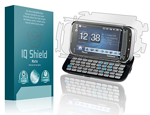 IQ Shield Matte Full Coverage Anti-Glare Full Body Skin + Screen Protector for HTC Tilt 2 (AT&T) Anti-Bubble Film