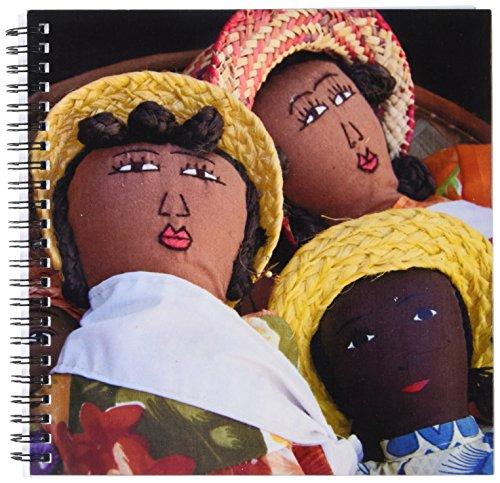 St Pierre Islands (3dRose db_132045_1 Reunion Island. St Pierre, Market Dolls-Af34 Cmi0006-Cindy Miller Hopkins-Drawing Book, 8 by 8-Inch)