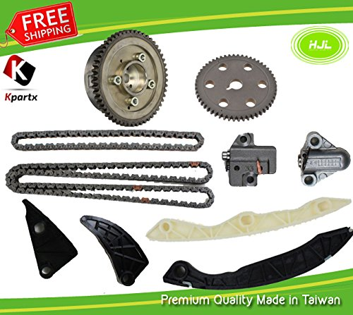 TIMING CHAIN KIT fits Hyundai Sonata 06-07,Kia Optima Rondo 2.4L 06-08 DOHC L4 16V. w/ VVT Gear and Camshaft Sprocket ,Engine Code:Theta II G4KC