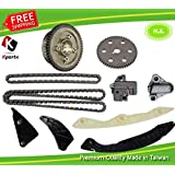 Timing Chain Kit Fit Hyundai Sonata 06-07,Kia Optima Rondo 2.4L 06-08 DOHC L4 16V. w/ VVT Gear and Camshaft Sprocket ,Engine Code:Theta II G4KC