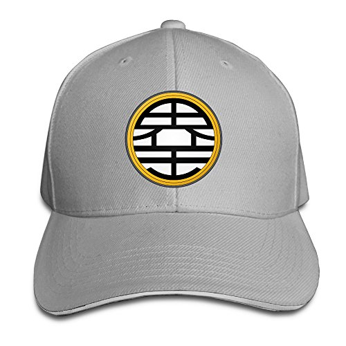 k-fly2-unisex-adjustable-dragon-ball-z-kame-baseball-caps-hat-one-size-ash