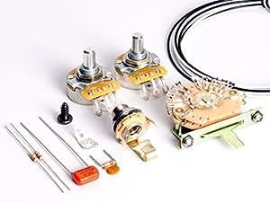 toneshapers wiring kit telecaster hh1 big. Black Bedroom Furniture Sets. Home Design Ideas