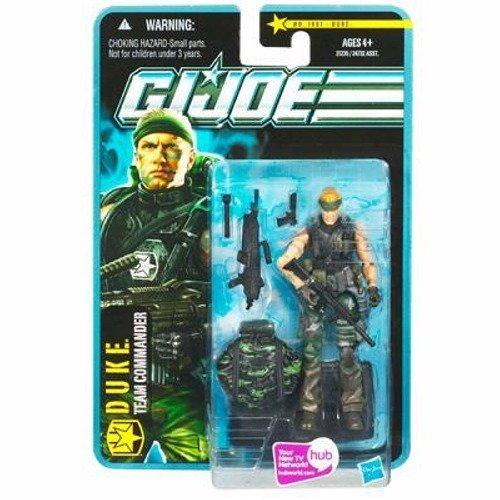 G.I. Joe Pursuit of Cobra 3 3/4 Inch Action Figure Jungle Assault Duke -