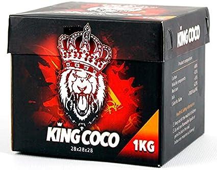 King Coco (Carbón Natural/Carbón de Shisha) Formato 28 Milímetros