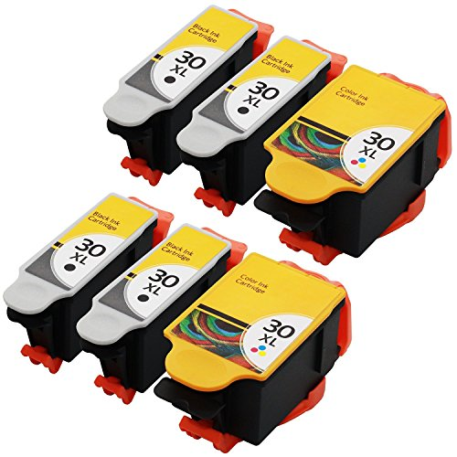 jetdirect-6-pack-compatible-replacement-set-for-kodak-30xl-30-xl-4-black-2-color-1550532-1341080-for