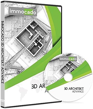 Immocado 3d Architekt Advance 3d Cad Hausplaner Und Architektur Software Inklusive Raumplaner Gartenplaner Grundrisserstellung Gelandemodellierung Badplaner Kuchenplaner Wohnungsplaner Amazon De Software