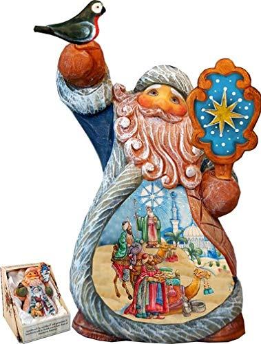 YesKela Fifield Three Kings Santa Tiny Tale Santa Figurine ()