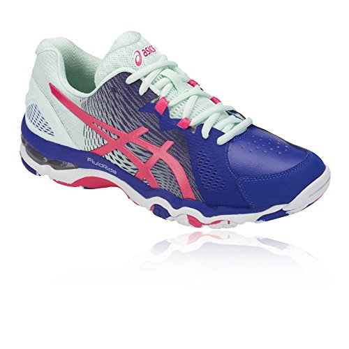 Shoes Netburner Gel AW18 8 Blue Super Asics Netball Women's Y5qwTHA