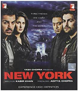 New York 2009 Blu-ray Bollywood Movie / Indian Cinema