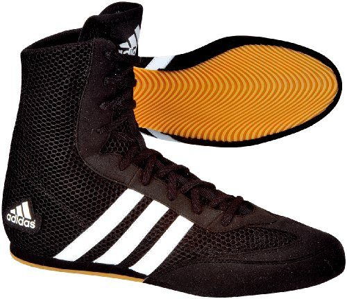 adidas Schuhe Box Hog, black / black / running white, 8.5, 116373