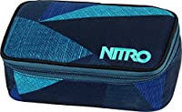 Nitro Snowboards Mäppchen Pencil Case XL, Fragments Blue, 6 x 8 x 20 cm, 1.3...
