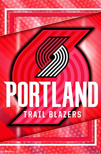 (Trends International Portland Trail Blazers - Logo Wall Poster, 22.375