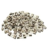 Tube Fuse Kits - SODIAL(R) 100Pcs Set 5x20mm Quick Blow Glass Tube Fuse Assorted Kits,Fast-blow Glass Fuses