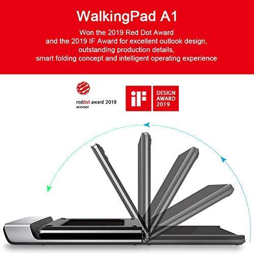 Dušial Foldable Electric Walking Pad Walking Running Folding Pad ...