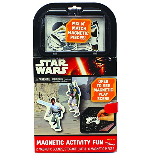 Wars Magnets Star (Star Wars Magnetic Activity Fun Play Set)