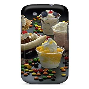 [tpYCI513yVLgh]premium Phone Case For Galaxy S3/ Sundae Delight Tpu Case Cover
