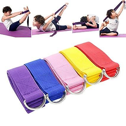 MINGRONG Cinturón de Yoga Estiramiento Ejercicio físico ...