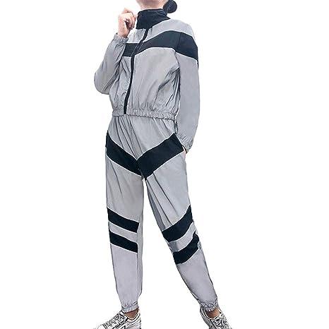 Chándal reflectante para mujer (2 unidades) + pantalón para mujer ...