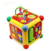 Brisk Play Baby Toys Fun and Learn Activity Cube Educational Toy,