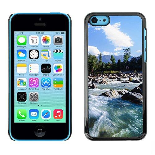 Premio Sottile Slim Cassa Custodia Case Cover Shell // F00004853 rivière // Apple iPhone 5C