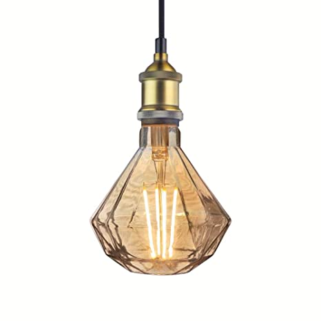 light bulb pendant led industrial pendant light vintage metal socket glass led bulb watts home décor ceiling lamp watts