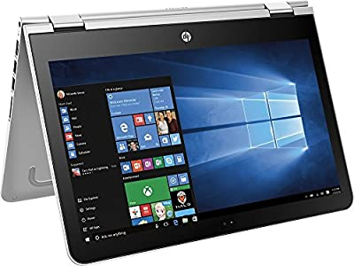 "HP Pavilion High Performance (2017 Newest) x360 Convertible 2 in 1 Touch-Screen Laptop, 13.3"" HD Display, Intel Core i3-6100U Processor, 6GB RAM, 500GB HDD, Webcam, Bluetooth, HDMI, Windows 10"