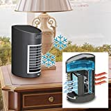 Kool Down Evaporative Air Cooler, Portable with Quiet 2-Speed Fan