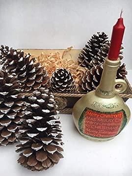 centro de mesa navideño con piñas: Amazon.es: Handmade