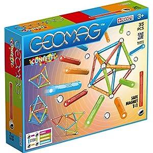 Geomag Classic Confetti 351 Costruzioni Magnetiche E Giochi Educativi 35 Pezzi