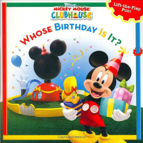 Book Birthday (Mickey Mouse Clubhouse Whose Birthday Is It? (Disney's Mickey Mouse Club))
