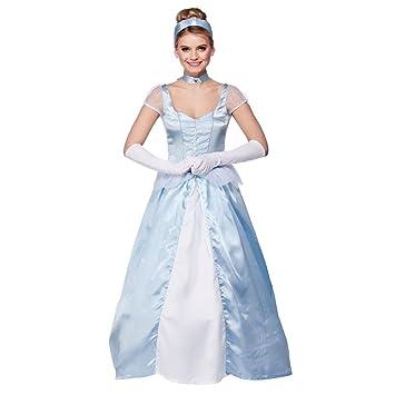 Disfraz La Cenicienta mujer. Disney Princesa. Carnaval ...