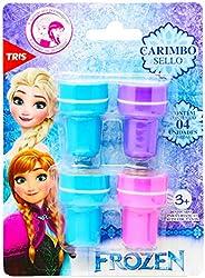 Carimbo Autotintado Frozen, Disney, 7897476684383, Multicor, pacote de 4