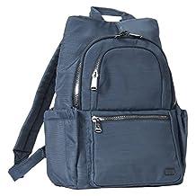 Lug Hatchback Mini Backpack, Brushed Blue, One Size (Model:4930)