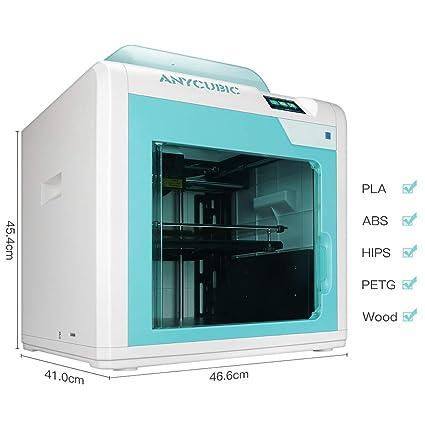 Impresora 3D Anycubic 4Max Pro Dimensiones de impresión 270 x 205 ...