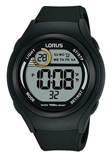 Lorus Reloj Digital para Unisex de Cuarzo con Correa en Silicona R2373LX9