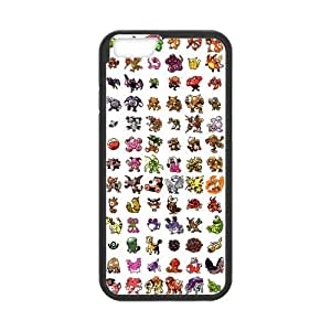 iPhone 6 Case, [Pokemon] iPhone 6 (4.7) Case Custom Durable Case Cover for iPhone6 TPU case(Laser Technology) by runtopwell