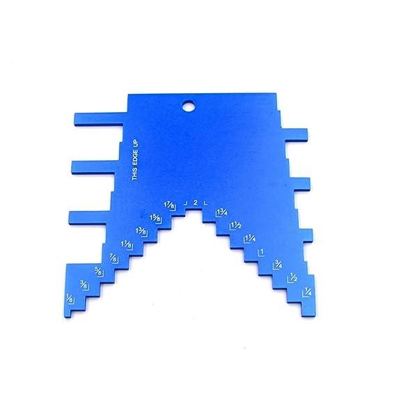 Medidor de profundidad de paso para fresadora y sierra de mesa ...
