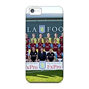 taoyix diy 5c Scratch-proof Protection Case Cover For Iphone/ Hot The Famous Fc Of England Aston Villa Phone Case