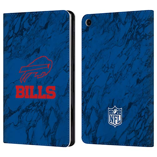 Card Buffalo Bills Credit (Official NFL Coloured Marble 2018/19 Buffalo Bills Leather Book Wallet Case Cover for Amazon Fire HD 8 (2017))