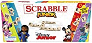 Hasbro Gaming Scrabble Junior: Disney Junior Edition Board Game, Double -Sided Game Board, Matching and Word G