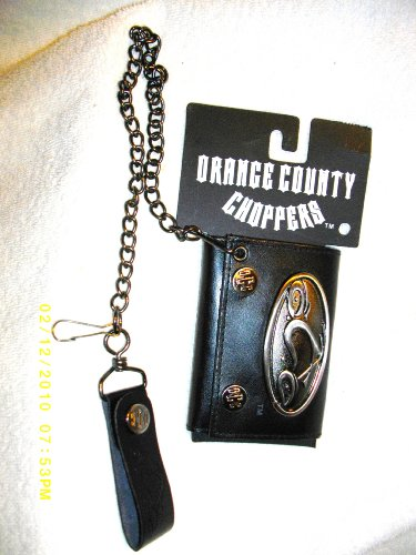 Orange County Chopper - Metal Badge Chain Wallet
