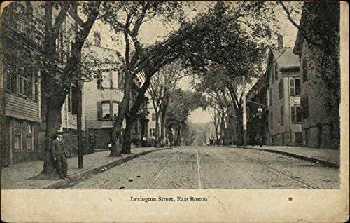 Lexington Street East Boston, Massachusetts Original Vintage ()