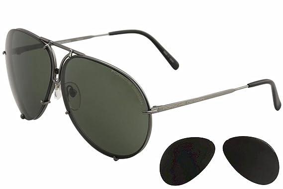 a0bf524f2f Amazon.com  Porsche Design P8478 D Titanium Sunglasses  PORSCHE ...