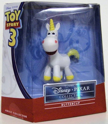 Disney/Pixar Toy Story 3 Premium Collection Collector Buttercup Butter Cup Action Figure Mattel 3 Inch (Toy Story Buttercup)