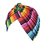 Tonsee Women Stretch Turban Hat Chemo Cap Hair Loss Head Scarf Wrap Hijab Cap