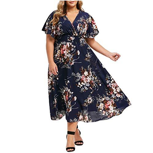 TANGSen Fashion Women Off Shoulder O-Neck Dress Vintage