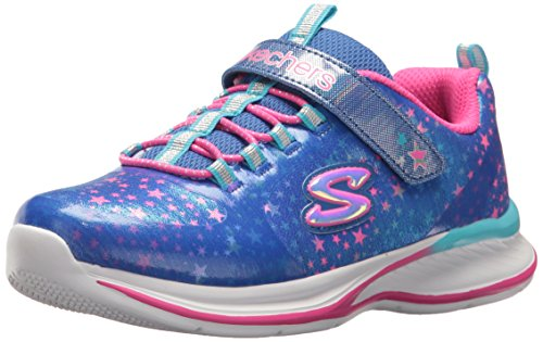 Skechers JumpinJams-Cosmic Cutie, Zapatillas Para Niñas Azul (Blue/multicolour)