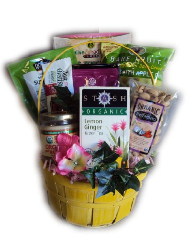 Organic Mother's Day Gift Basket by Well Baskets