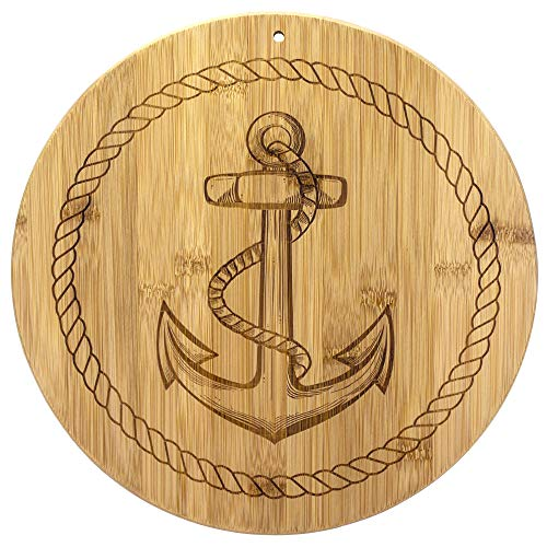 Totally Bamboo Anchor Bamboo Serving and Cutting Board, 12