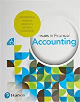 Issues in Financial Accounting, 16th Edition Front Cover